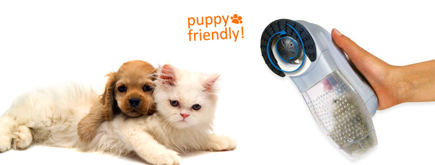 Puppy-friendly vacuum